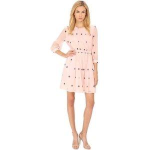 NWT Kate Spade Pink Tiny Spotlight Pleated Dress